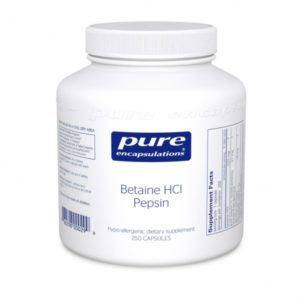 Betaine HCl Pepsin Supplemental