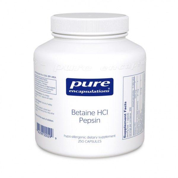 Betaine HCl Pepsin Supplemental