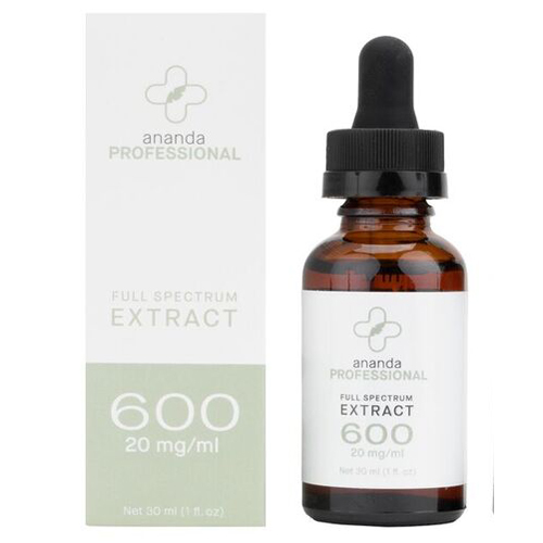 CCBD Extract Tincture 600 mg